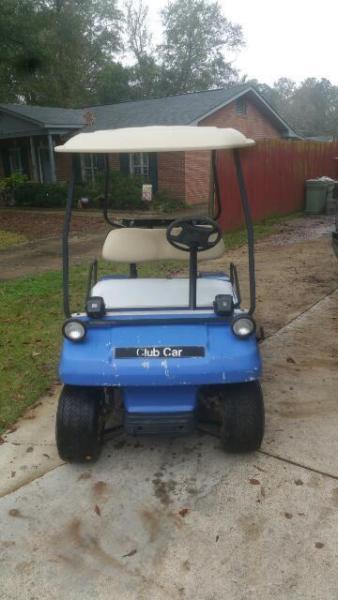 1997 gas club car golf cart