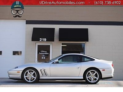 Ferrari : 550 550 maranello documented service history books tools clean carfax we finance