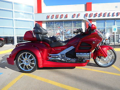 Honda : Gold Wing 2016 honda goldwing trike gl 1800 roadsmith hr signature series