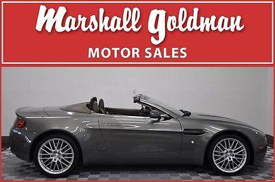 Aston Martin : Vantage Base Convertible 2-Door 2009 aston martin vantage convt mercury silver sandstorm only 10800 miles