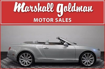 Bentley : Continental GT GTC Convertible 2-Door 2012 bentley continental gtc breeze w breeze leather nav naim 7 900 miles