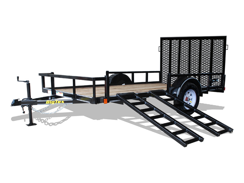 2015 Big Tex Trailers Single Axle Trailers 35SA-RS/RSX