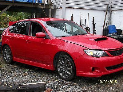 Subaru : WRX Impreza 2010 subaru wrx wrecked