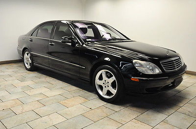 Mercedes-Benz : S-Class AMG S55 2001 mercedes benz s class s 55 amg low miles tv dvd