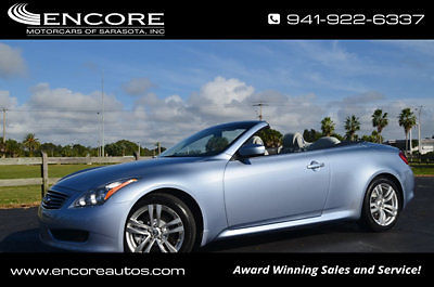 Infiniti : G37 2dr ConvertibleW/Premium and Navigation 2010 infiniti g 37 convertiblew premium and navigation cooled seats