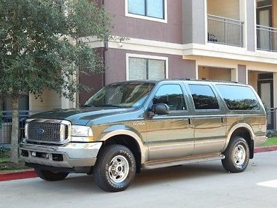 Ford : Excursion FreeShipping Excursion 7.3L Diesel 4X4 Eddie Bauer 119K Miles! Very Clean! 1-OWNER SERVICED!!