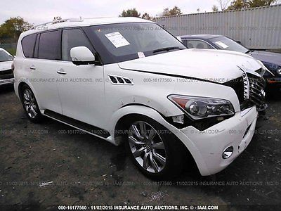 Infiniti : QX56 Base Sport Utility 4-Door 2012 used 5.6 l v 8 32 v automatic 4 wd suv premium bose