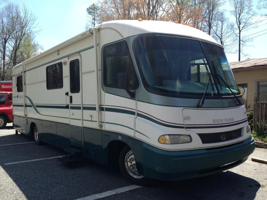 2013 Holiday Rambler Vacationer 34SBD