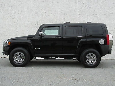 Hummer : H3 Luxury Sport Utility 4-Door WHOLESALE Heated Seats Rear DVD Leather seats 4x4 nerf bars XM Grille Guard