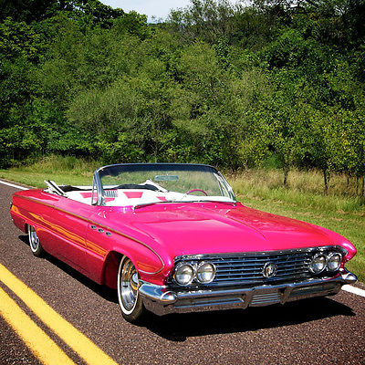 Buick : LeSabre Custom 1961 buick lesabre convertible custom fuel injected v 8 a c air ride suspension