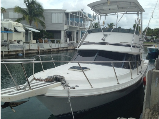1989 Blackfin 29' Flybridge