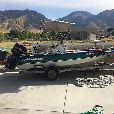 1998 19 FT PRO MASTER  W/CENTER CONSOLE & 2012 150HP OPTIMAX OUTBOARD MOTOR