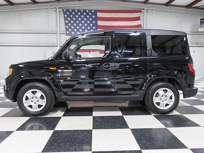 Honda : Element LX Auto EX 2wd Black Warranty Financing Cloth All Power New Tires Clean Carfax Low Miles Clean