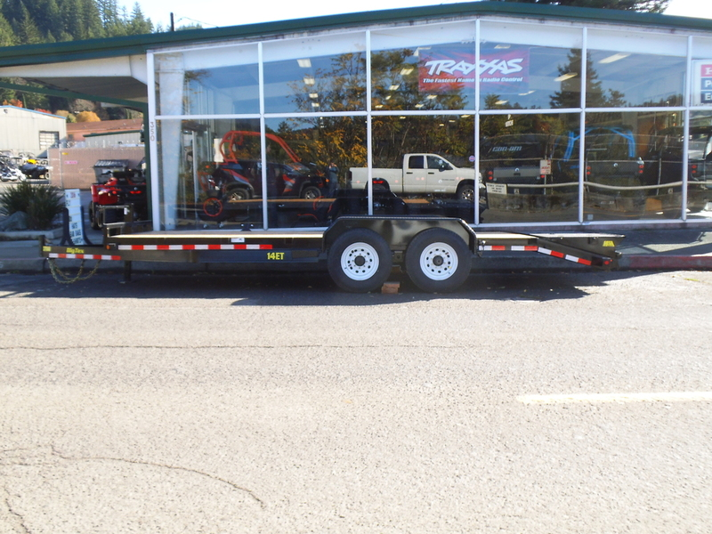 2015 Big Tex Trailers Tandem Axle Trailers 70PI-X