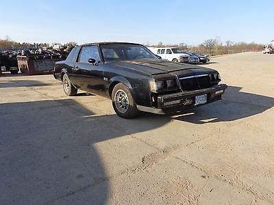 Buick : Grand National TWO DOOR COUPE 1984 buick grand national turbo v 6 project car