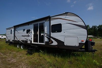 Year End Frenzy Sale 2015 Forest River Wildwood RV 37BHSS2Q Bunkhouse Camper