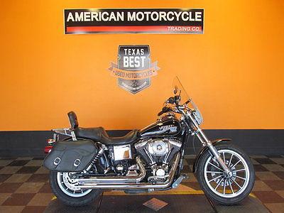 Harley-Davidson : Other 2005 harley davidson dyna low rider fxdli saddlebags exhaust windshield