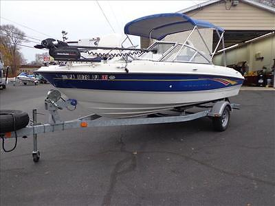 07 Bayliner 185BR Fish and Ski Boat w/ trolling motor & trailer