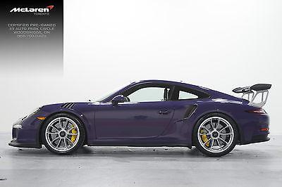 Porsche : 911 GT3 RS 2016 porsche 911 gt 3 rs ultra violet new ceramic brakes