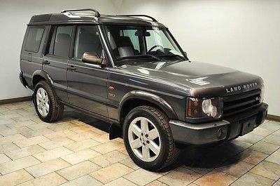 Land Rover : Discovery SE7 2003 land rover discovery se 7 low miles warranty