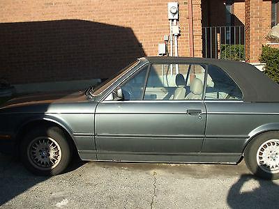 BMW : 3-Series Base Convertible 2-Door 1987 bmw 325 i base convertible 2 door 2.5 l