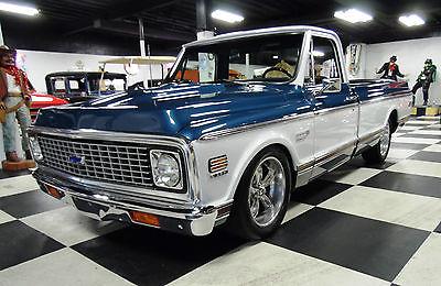 Chevrolet : Cheyenne Cheyenne Blue/White 1969 Chevrolet Cheyenne   396/Auto