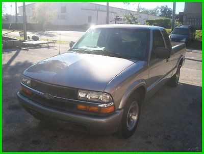 Chevrolet : S-10 chevy s10 LS long bed v6 auto florida 1999 ls used 4.3 l v 6 12 v auto pickup truck rust free florida ext cab