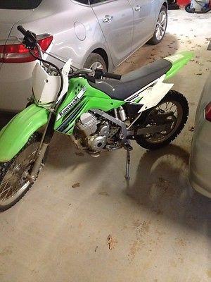 Kawasaki : KLX 2012 klx 140 l kawasaki dirt bike