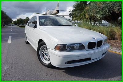BMW : 5-Series iA 2001 bmw 525 i e 39 low miles leather heated seats premium clean florida