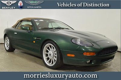 Aston Martin : DB7 Volante 98 volante db 7 buckinghamshire green left hand drive all tan w forest piping