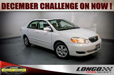 Toyota : Corolla 4dr Sedan Automatic LE 4 dr sedan automatic le manual gasoline 1.8 l 4 cyl super white
