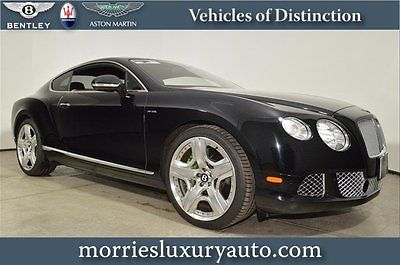 Bentley : Continental GT Continental GT 12 continental gt w 12 heated steering wheel mulliner driving specification