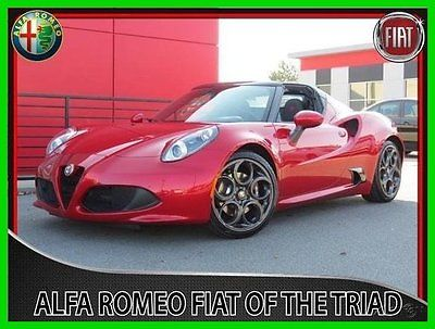 Alfa Romeo : Other 4C Spider Convertible 2016 new automatic rwd convertible premium