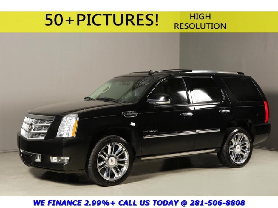 Cadillac : Escalade 2012 PLATINUM NAV SUNROOF 2DVD REARCAM 7PASS LED'S 2012 cadillac escalade 2012 platinum nav sunroof 2 dvd rearcam 7 pass led s 22