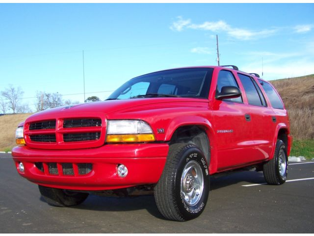 Dodge : Durango 1-OWNER 39K YES SIMPLEY ONE OF THE BEST ON MARKET ULTRA-NICE-SOUTHERN-SLT-RED-4X4-5.9L-DUAL-AC-3RD-SEAT-4WD-SERVICE-RECORDS-WAGON