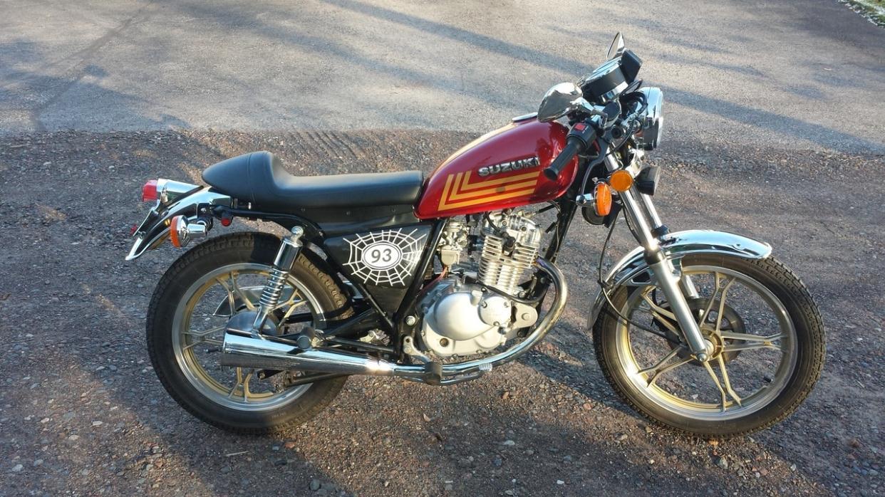 suzuki gn 125 motorcycles for sale. Black Bedroom Furniture Sets. Home Design Ideas