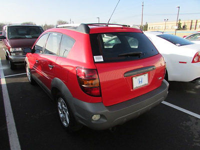 Pontiac : Vibe 4dr Hatchback 4 dr hatchback sedan manual gasoline 1.8 l 4 cyl red