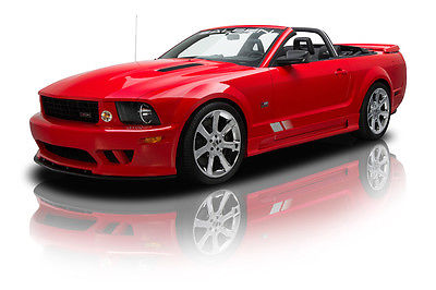 Ford : Mustang S281 Extreme 9 174 mile saleen s 281 extreme convertible supercharged 4.6 l 550 hp 6 speed