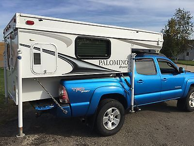 2011 PALOMINO BRONCO 600 TRUCK CAMPER *VERY CLEAN / WELL KEPT* SOLAR PANEL