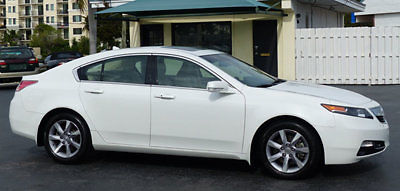 Acura : TL 4dr Sedan Automatic 2WD Tech 2013 acura tl tech navigation 1 owner florida car amazing condition