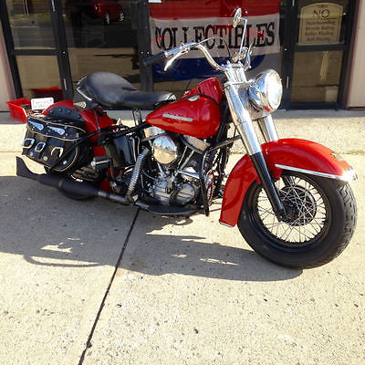 Harley-Davidson : Other 1954 harley davidson fl vintage panhead harley rigid frame used motorcycle