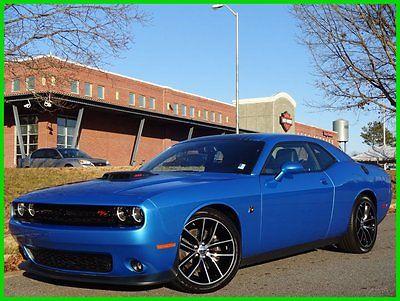 Dodge : Challenger R/T Scat Pack B5 BLUE SHAKER PKG 1 OWNER! 6.4 l manual leather heated cooled seats graphics pkg