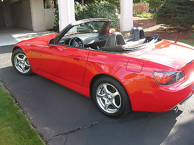 Honda : S2000 Base Convertible 2-Door 2001 honda s 2000 base convertible 2 door 2.0 l