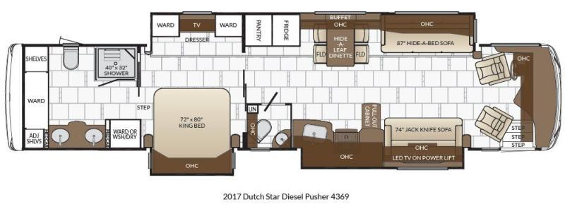 2017 Newmar Dutch Star 4369