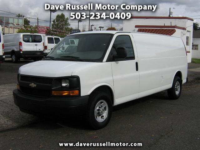 2009 Chevrolet Express G2500 Extend Cargo Van