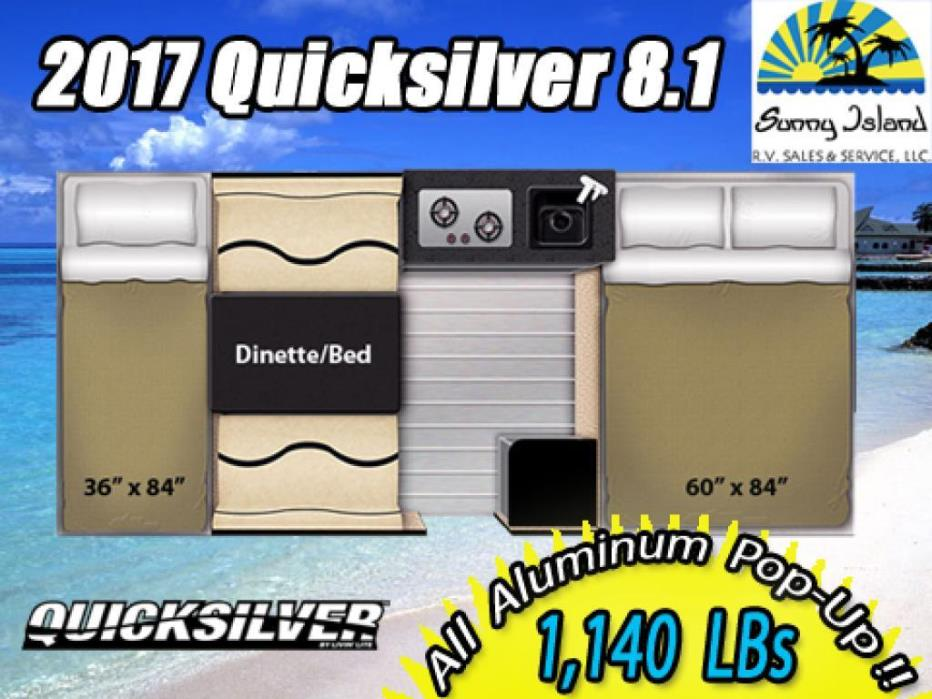 2017 Livin Lite Quicksilver 8.1