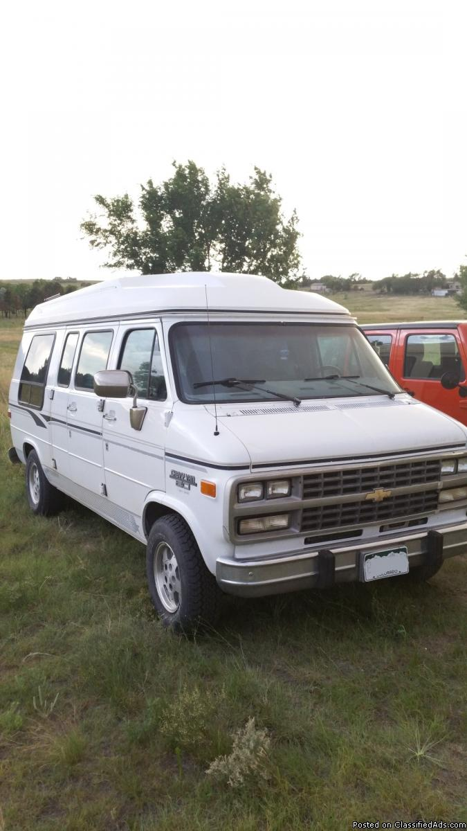 1995 chevy conversion van cars for sale. Black Bedroom Furniture Sets. Home Design Ideas
