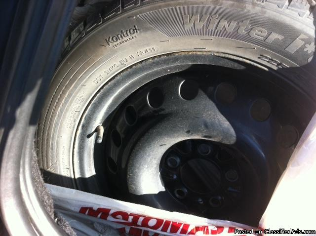Great set of Winter tires for sale!