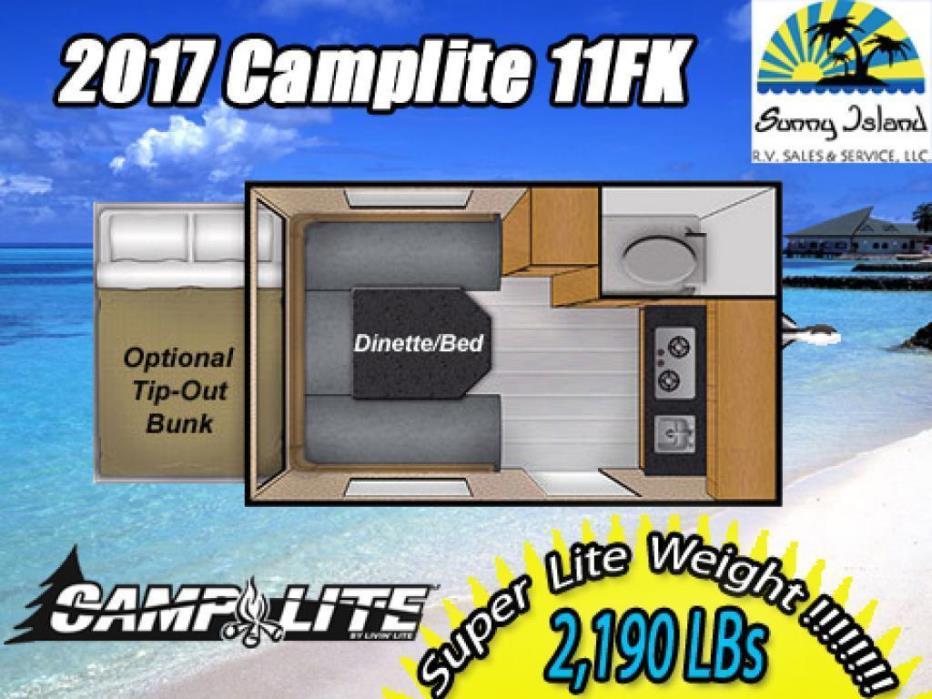 2017 Livin Lite Camplite 11FK