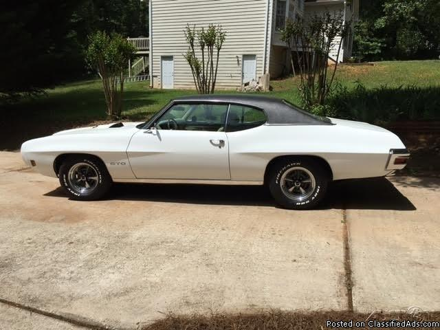 1970 Pontiac GTO For Sale In Fayetteville, Georgia  30215